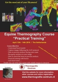 equine thermography practical training 2018