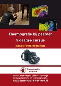 cursus paardenthermografie met t410sp camera