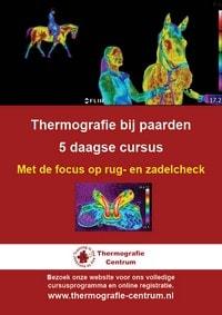 cursus thermografie bij paarden rug- en zadelcheck