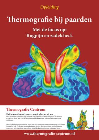 cursus thermografie bij paarden rugpijn zadelpasvorm